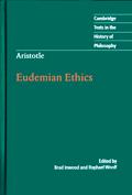 Aristotle: Eudemian Ethics book cover photo