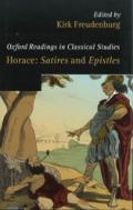 Horace: Satires and Epistles. Oxford Readings in Classical Studies book cover photo