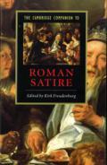 The Cambridge Companion to Roman Satire book cover photo