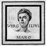 Photo of Vergil mosaic.