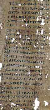 Photo of manuscript fragment.