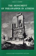 The Monument of Philopappos in Athens book cover photo
