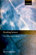 Reading Seneca: Stoic Philosophy at Rome book cover photo