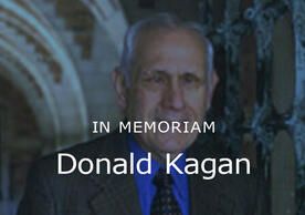 In Memoriam, Donald Kagan image